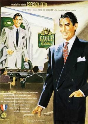 vintage mens suits gregory peck