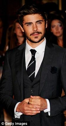 zac efron suit and tie