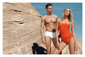 calvin klein mens swimwear model