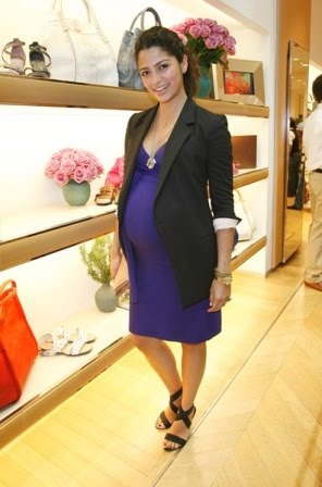 celebrities wearing isabella oliver maternity clothes camila alves