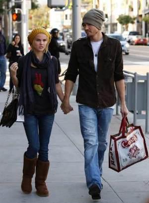 Celebrities Wearing Jeans Chad Michael Murray in diesel