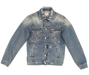 david beckham wrangler denim jacket