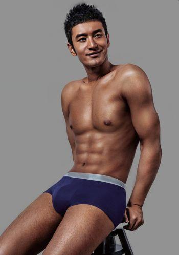Huang Xiaoming underwear boxer briefs