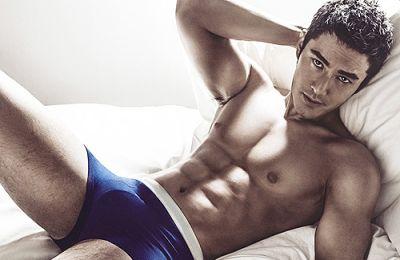 Huang Xiaoming underwear model