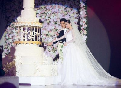 Huang Xiaoming wedding