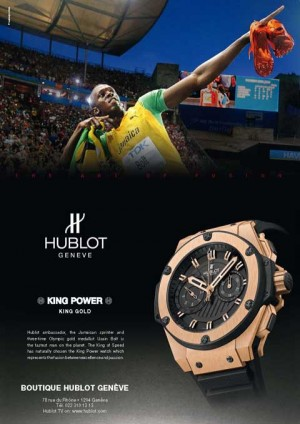 hublot mens watch brand ambassador usain bolt