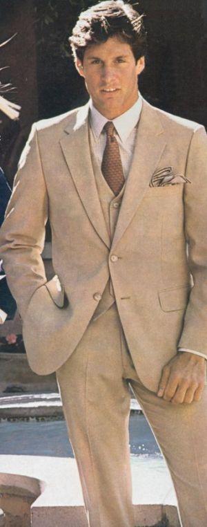 vintage mens suits tan suit at wallachs