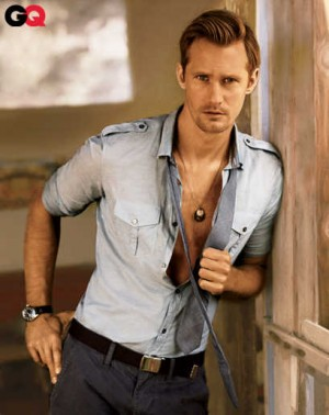 slim fit dress shirts for men - skarsgard burberry