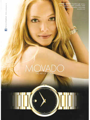 movado watches for women amanda seyfried