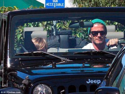 celebrity cars david beckham jeep wrangler
