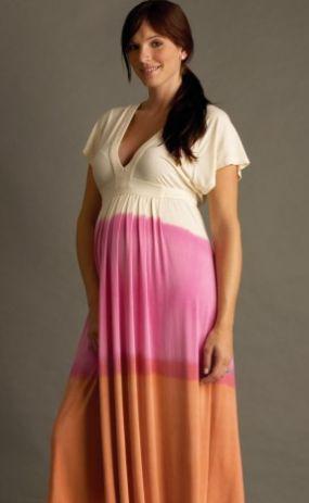 nuka elle Maxi Maternity Dress