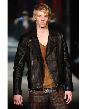best biker leather jackets roberto cavalli