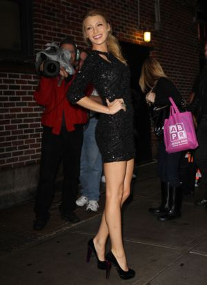 Blake Lively style Mini-Dress