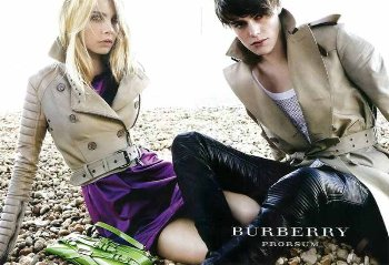 mens burberry leather pants