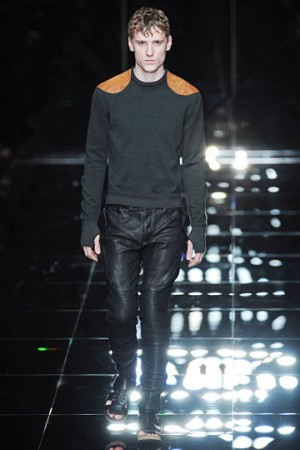burberry leather pants mens
