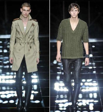christopher bailey burberry leather pants