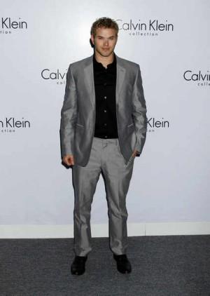celebrity Calvin Klein Suits for Men