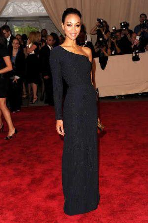 celebrities wearing calvin black klein dresses