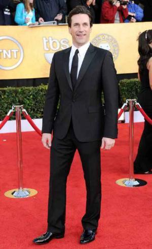 jon hamm calvin klein tuxedo suits