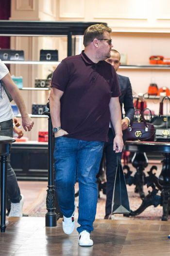celebrity gucci shoes - famous men wearing gucci - james corden