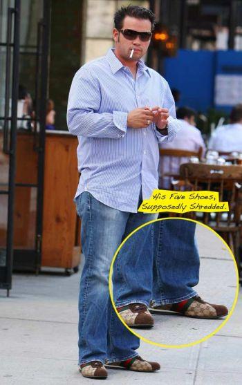 celebrity gucci shoes - famous men wearing gucci - jon gosselin
