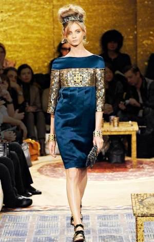 blue dress for girls prefall chanel