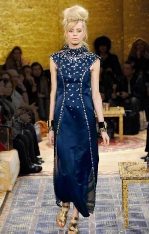 blue dress for girls model