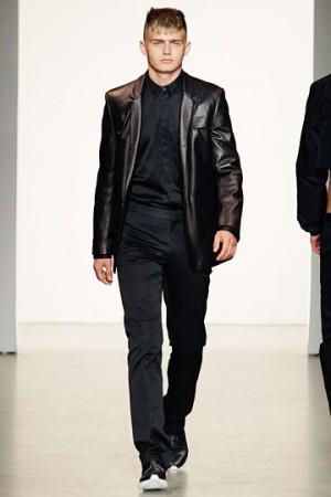 calvin klein leather jackets for men
