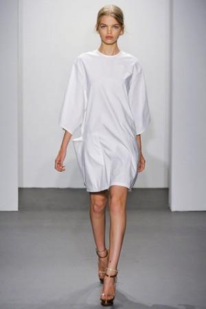 calvin klein Celebrity White Dress