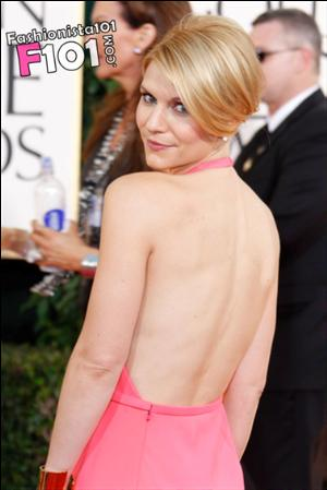 backless dress for girls claire danes