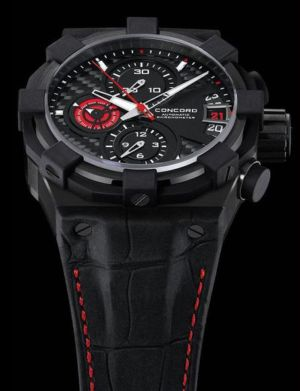 ronny turiaf concord watch brand ambassador