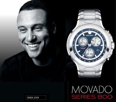 movado watches for men - derek jeter - 800