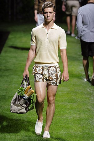 men in sexy short pants dolce gabbana