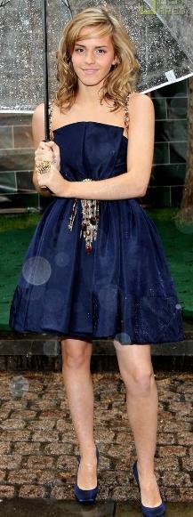 blue dress for girls emma watson