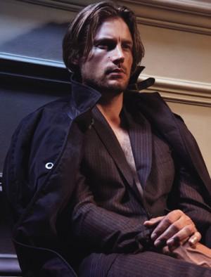 dress like a male model etro