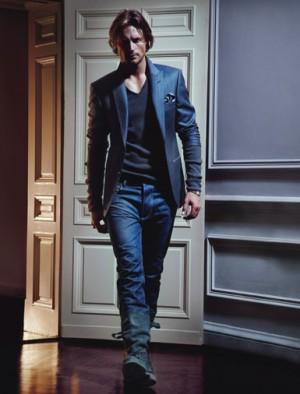 dress like a male model bottega veneta