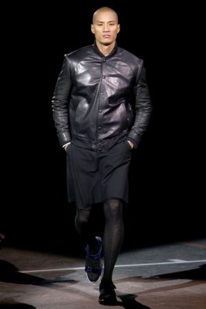 givenchy leather jacket paolo roldan
