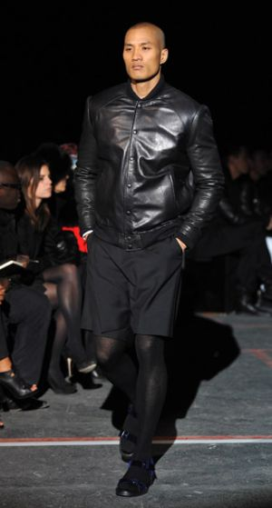 mens givenchy leather jackets paris fashion week