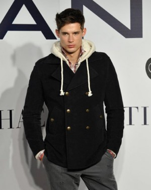 gant peacoats for men