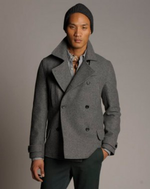 unis peacoats for men