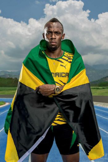 hublot watch brand ambassadors - usain bolt