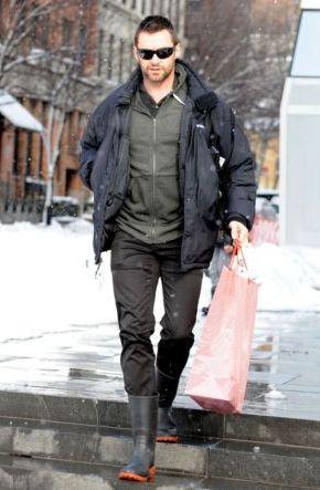 mens rain boots hugh jackman