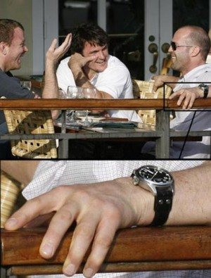 jason statham big pilot iwc watch