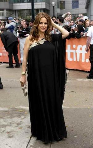kelly preston pregnant maternity dress