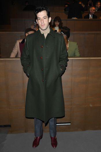 celebrity winter coats - mark ronson