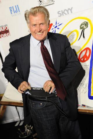 famous men wearing ellen underwear - martin sheen