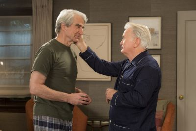 martin sheen gay with sam waterston - grace and frankie