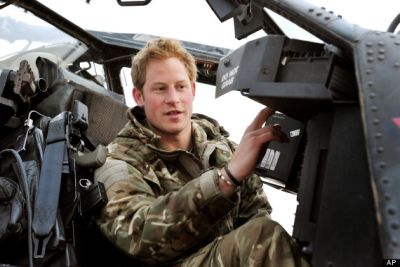 prince harry apache helicopter pilot
