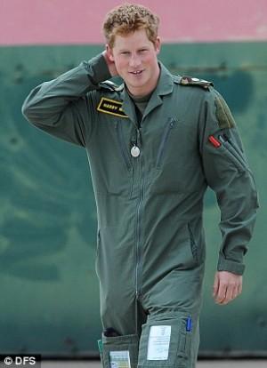 Prince Harrys Aviator Flight Suit