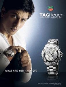 Shahrukh Khan Tag Heuer wristwatch